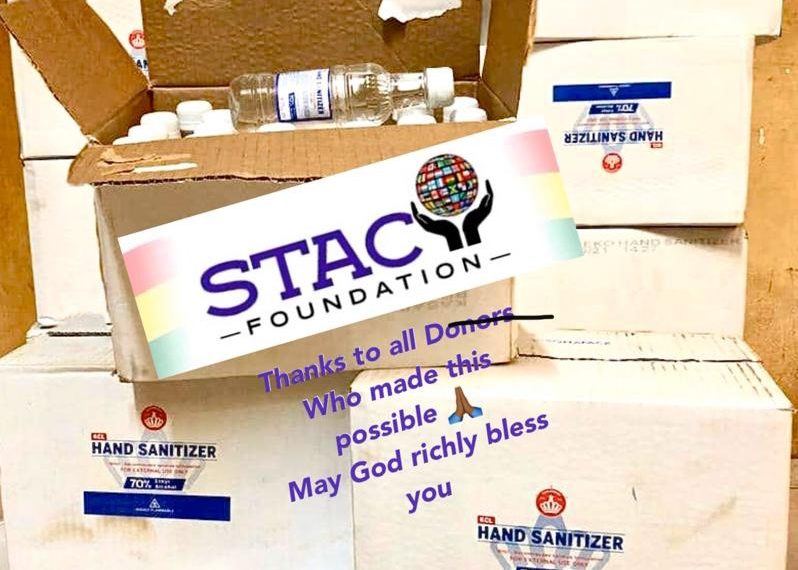 Stacy Foundation Shares Hand Sanitizers To The Less Privileged in Accra