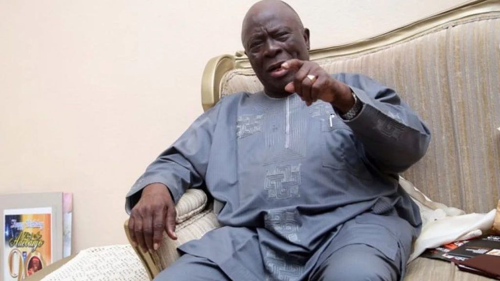 Buhari not ready to concede power, APC looting more than Abacha – Adebanjo