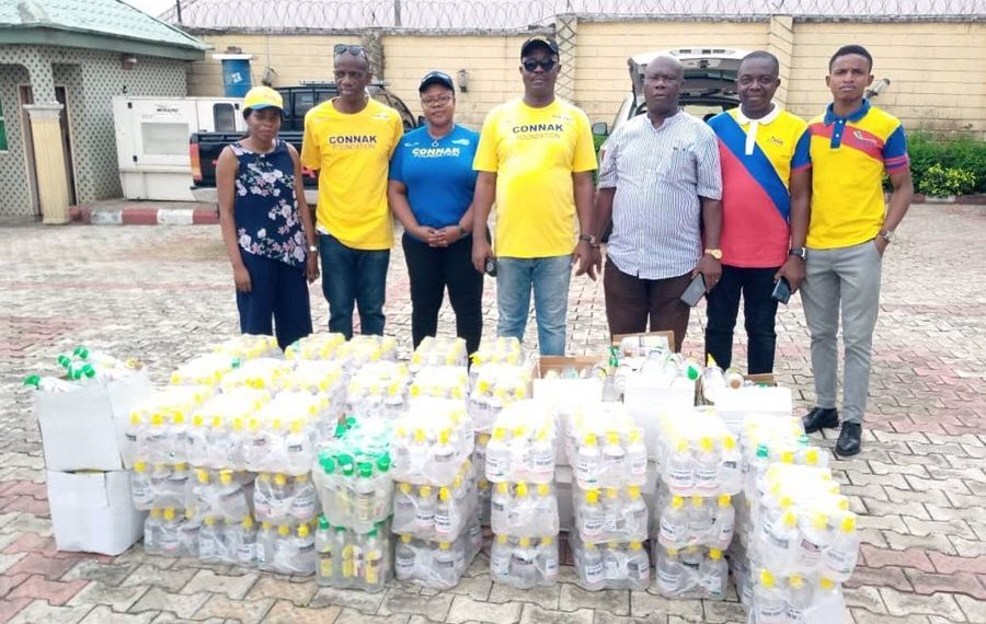 CONNAK Foundation does house to house relieve distribution