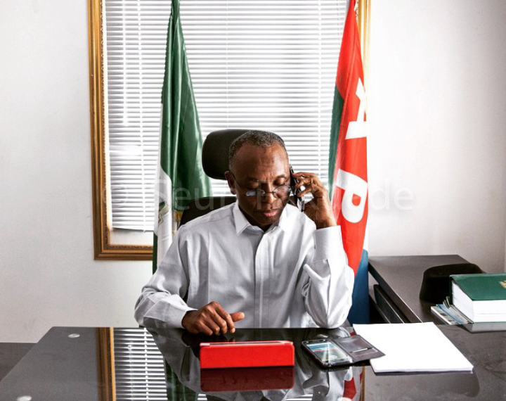 Nasir el-Rufai has tested negative for Coronavirus