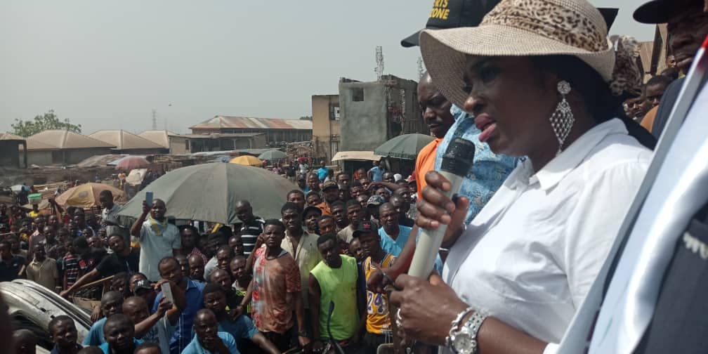Abule Ado Explosion: Senator Ekwunife commiserates with the victims, mourns constituents who lost their lives in the incident.