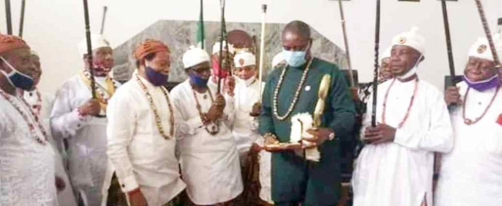 About Gov. Udom Emmanuel 'King Of Kings' Chieftaincy Title