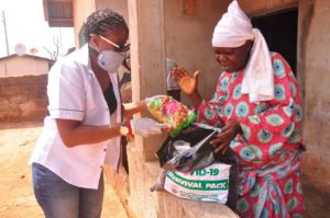 EDPA begins distribution of food and items to elderly, vulnerable persons.