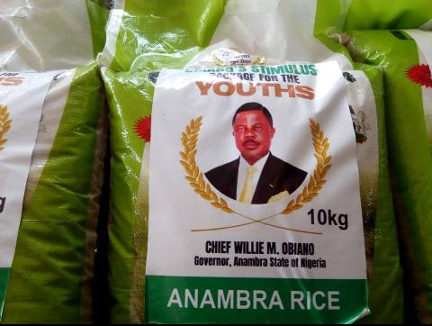 Anambra Govt. to distribute 400 Bags of Rice to 181 Communities