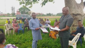 IKEDURU PDP CHAPTER INAUGURATES NEW LGA AND WARD EXCO